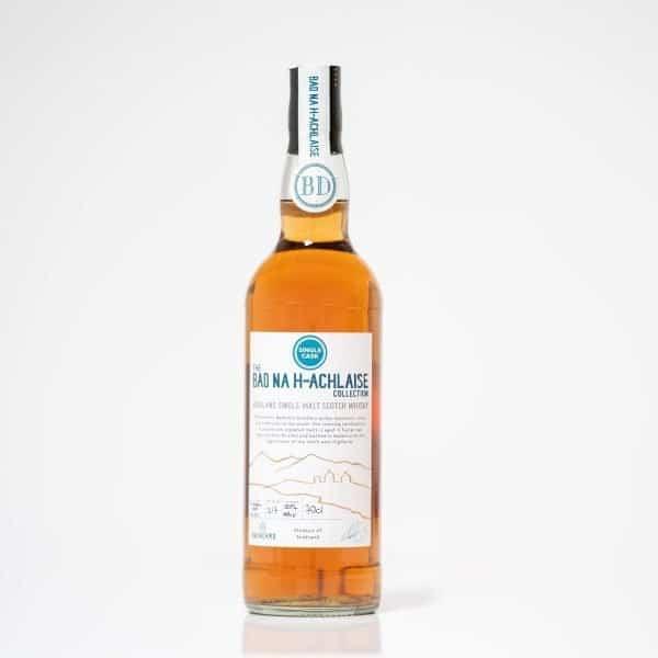 Badachro single cask malt whisky