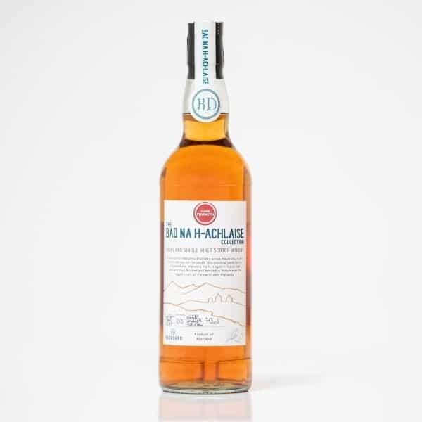 cask strength malt whisky